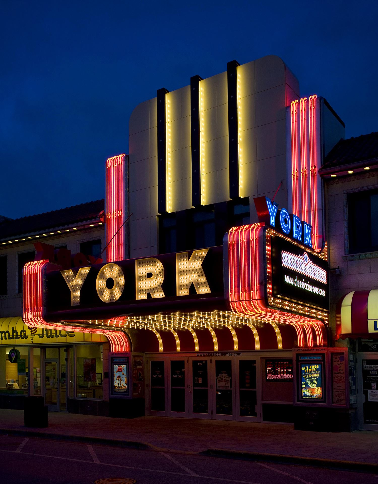 York Theatre Courtesy Classic Cinemas